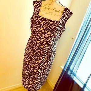 Calvin Klein Midi Dress 👗 Size 12